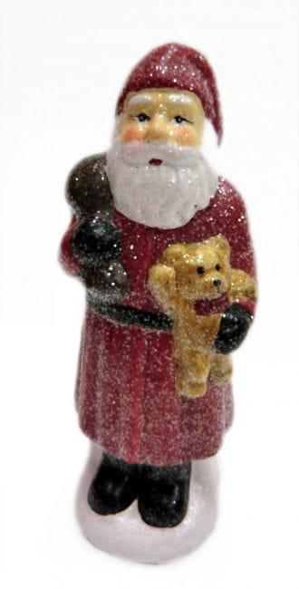 Glitter Nicholas with Teddy