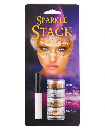 Glitter Stack Gold