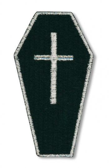 Gothic Aufnäher Sarg