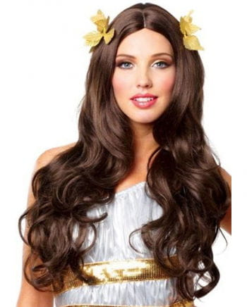 Goddess Wig with Wreath Combs