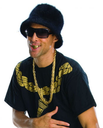 Gold Grillz Rapper Zähne