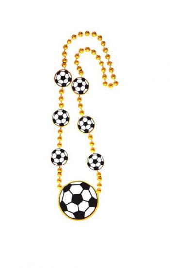 Fußball Kette goldfarben