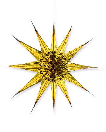 Deko Stern Gold 50 cm