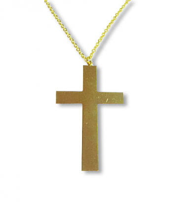Golden Cross on a Chain