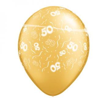 Gold Wedding Balloons
