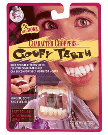 Goofy Zähne
