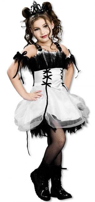 Gothic Ballerina Kinderkostüm S S