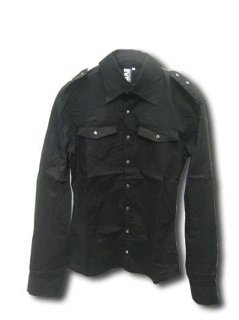 Gothic Uniform Männerhemd XL