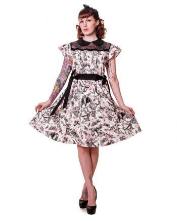 Petticoat Kleid mit Schmetterling Print