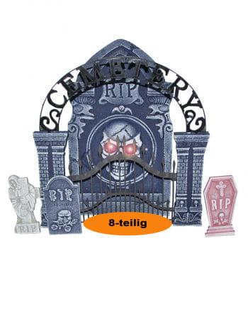 Tombstone Decoration Kit with LED
