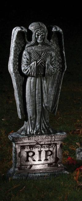 Grave stone dead angel