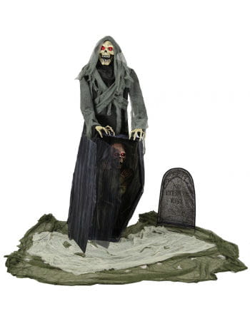 Graveyard Reaper With Sound & Movement For Halloween | horror-shop.com