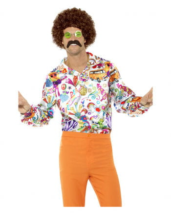 60s Groovy shirt colorful