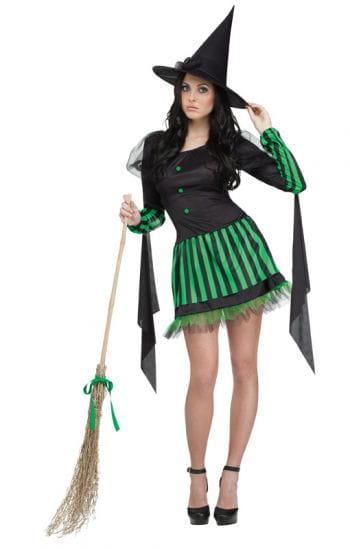 Grüne Hexe Damenkostüm