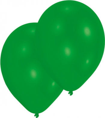 Green Balloons 50 Pcs