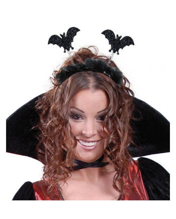 Hair Ripe With Glitter Bats