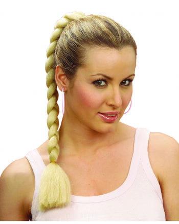 Hairpiece Blond Braid