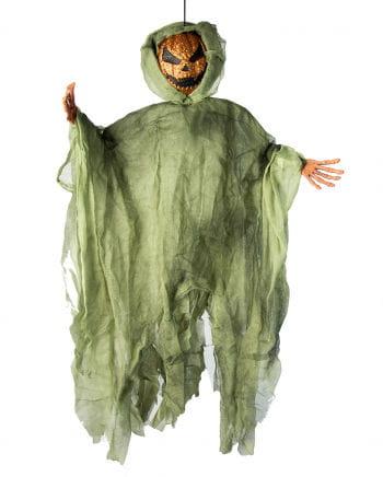 Glitter Pumpkin Spirit Orange / Green 90cm