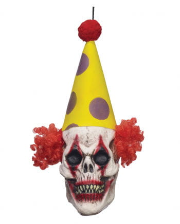 Hängedeko Clown Skull
