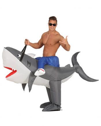 shark pumpkin costume inflatable to order horror. Black Bedroom Furniture Sets. Home Design Ideas