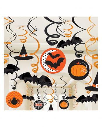 Halloween Decospiral 30 Pcs.