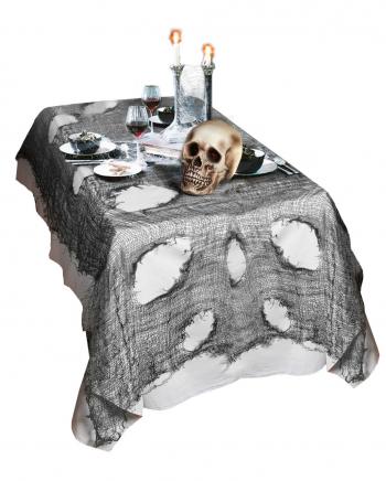 Halloween Rag Fabric Black