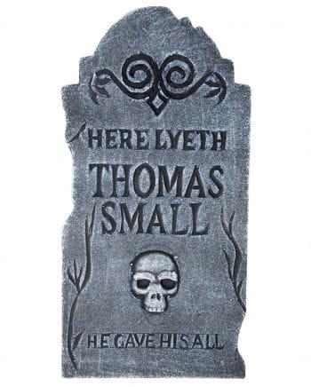 Halloween headstone 38cm