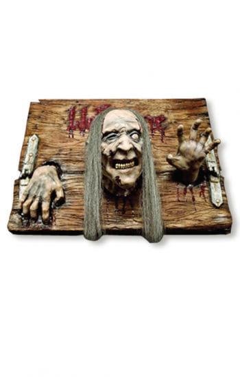 Welcome Zombie Hinweis Schild