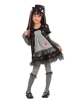 Gothic Doll Kinderkostüm S S 106-128