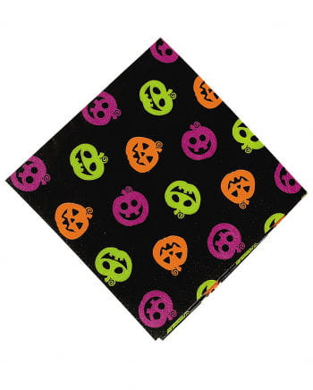 Halloween pumpkin cocktail napkins 50 St.