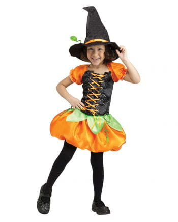 Sweet Pumpkin Witch | Witch costume for girls | horror-shop.com
