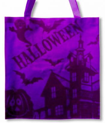 Halloween Stofftasche lila