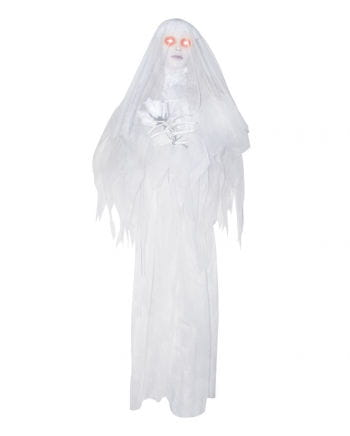 Hanging Ghost Bride Animatronic