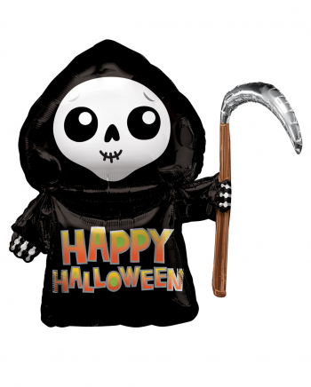 Happy Grim Reaper Foil Balloon