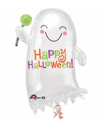 Happy Halloween Folienballon Geist