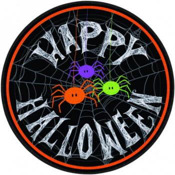Happy Halloween Paper Plates