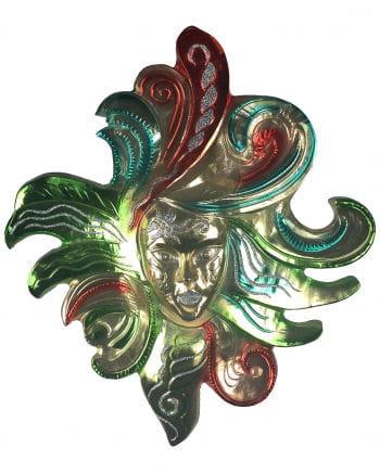 Harlequin wall decoration mask