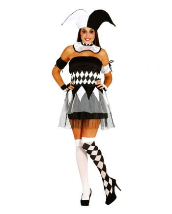 Harlequin Ladies Costume Size M