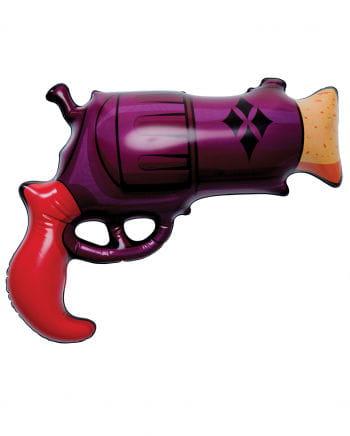 Harley Quinn Revolver aufblasbar