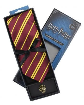 Harry Potter Gryffindor Krawatte mit Pin