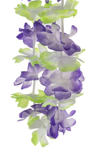 Hawaii flower necklace purple