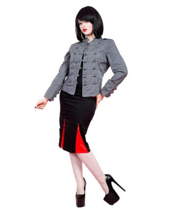 Military Ladies Jacket gray
