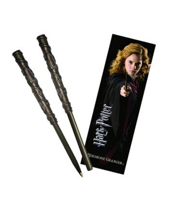 Hermine Granger's wand pen and bookmark