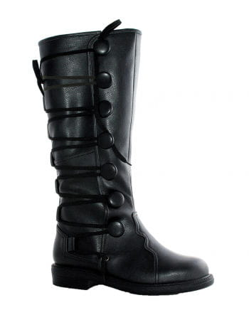 Renaissance Men's Boots Black