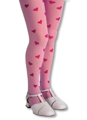 Children Heart tights pink