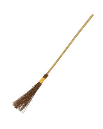 Witch Broom With Bamboo Style