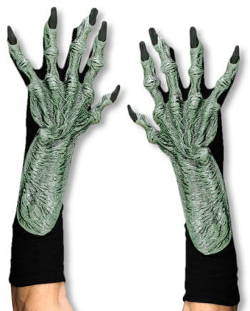 Witches hands made from latex