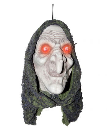 Hex Head With Red LED Eyes