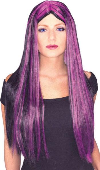 Witch with purple streaks