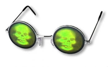 Skull Hologram Glasses